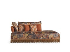 Etro Home Interiors Mauritania Dormeuse in Fabric