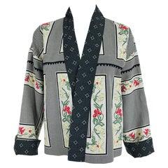 Etro Mix Print Kimono Jacket
