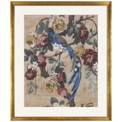 Etro Home Interiors Papier Powder Print with Frame