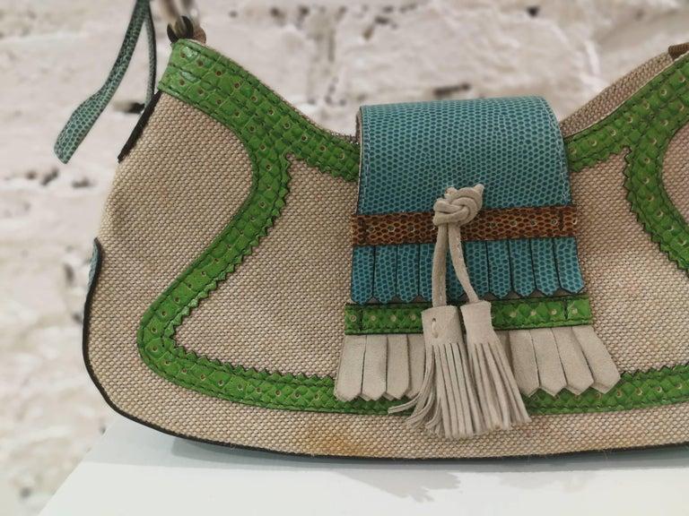Women's Etro SS16 Multicolour Shoulder Bag NWOT For Sale