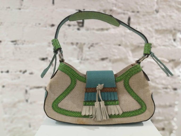 Etro SS16 Multicolour Shoulder Bag NWOT For Sale 1