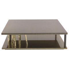 Etro Home Interiors Taxila Central Table in Metal and Wood