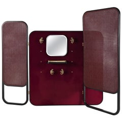 Etro Timgad Screen in Wood and Fabric