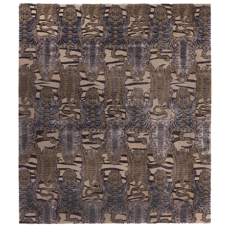 Etro Tingri Rug in Sand Color For Sale