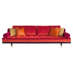 Etro Home Interiors Woodstock 4-Seater Sofa in Velvet