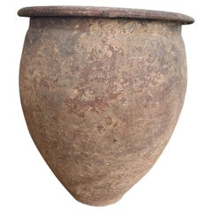 Etruscan Storage Terracotta Jar, II Century B.C