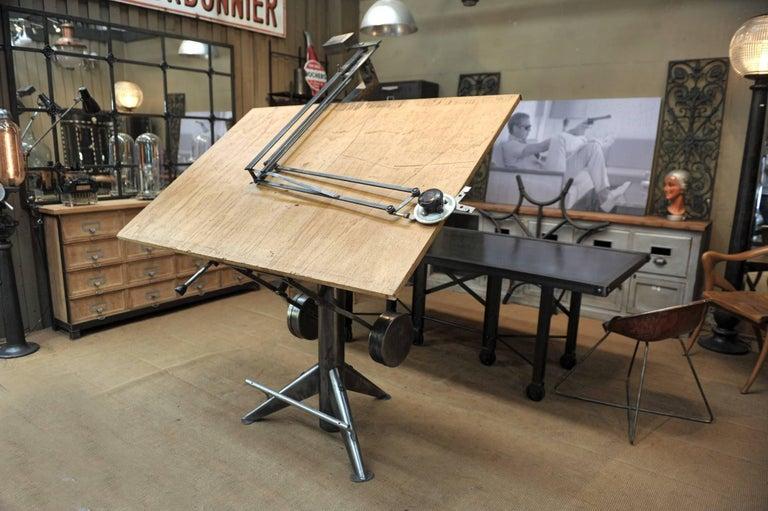 Ets Sautereau Paris System Architect S Drafting Table Or