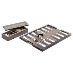 Ettore Guatemala Marble Backgammon Board
