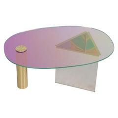 Ettore Purple Coffee Table by Asa Jungnelius