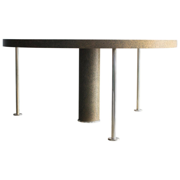 Ettore Sottsas Ospite Table Zanotta Postmodern, 1980s For Sale