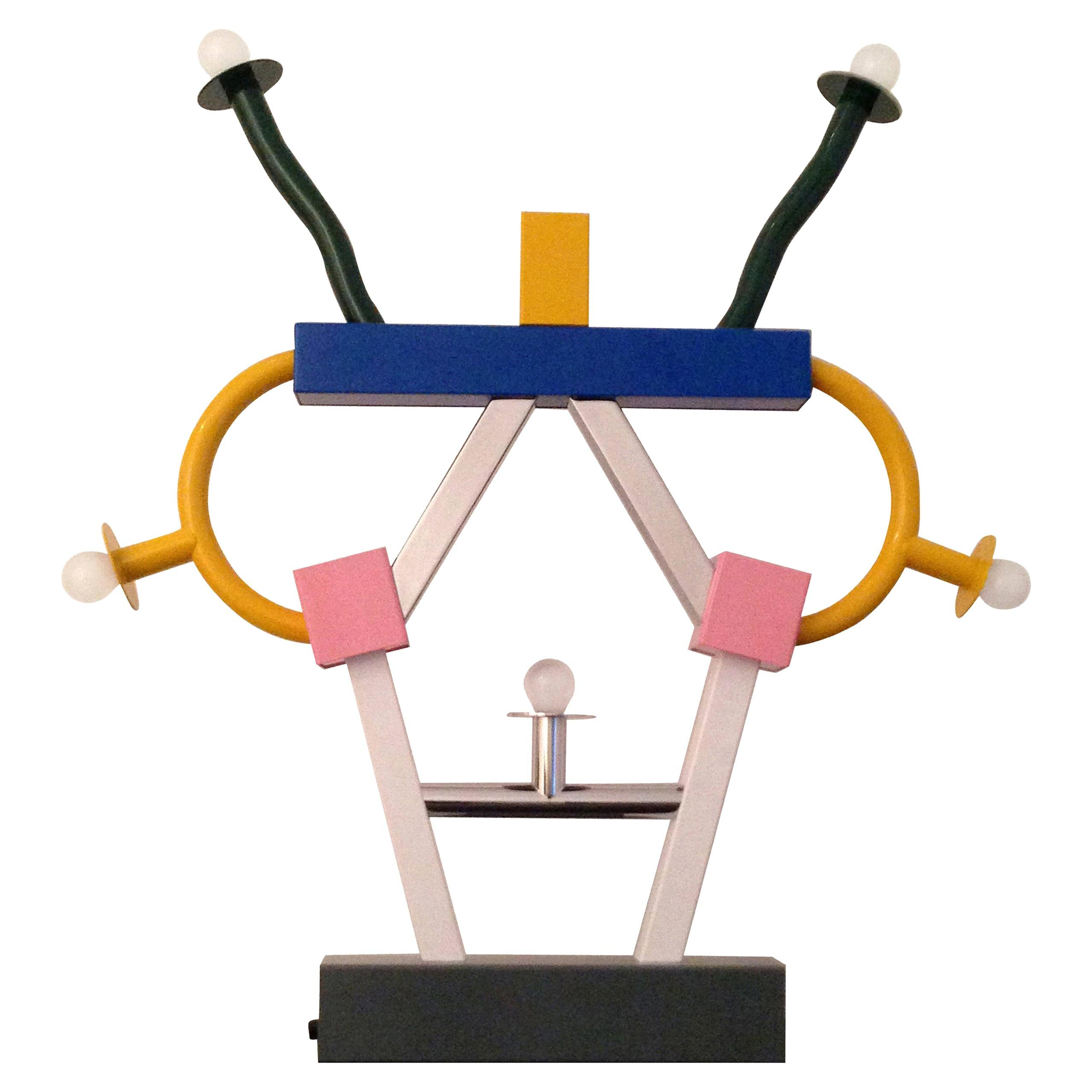 Ettore Sottsass ASHOKA Table Lamp for MEMPHIS srl
