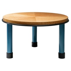 Ettore Sottsass Burl Wood Table Memphis