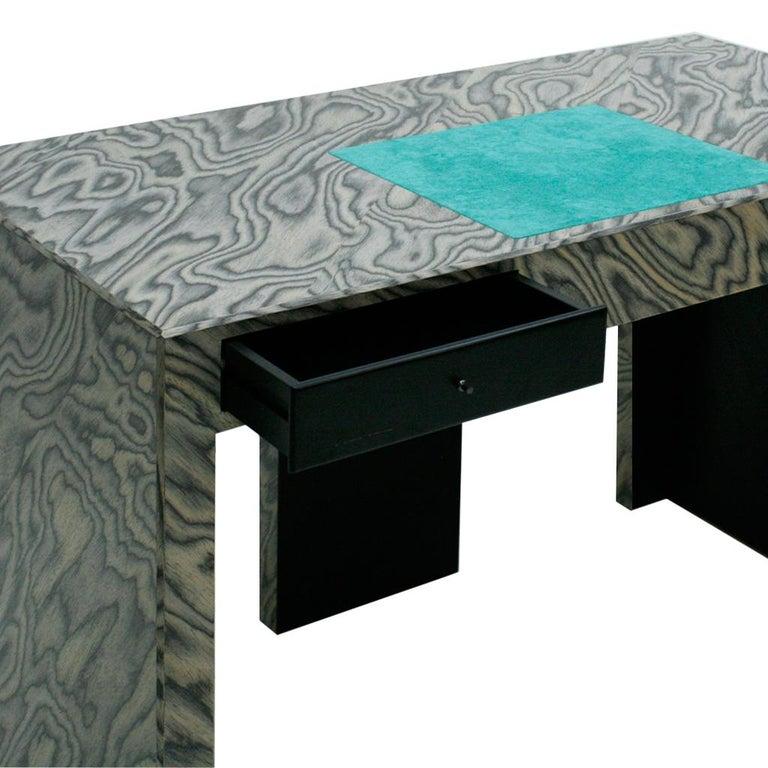 Ettore Sottsass by Zanotta Litta Italian Desk, 1986 In Good Condition For Sale In Madrid, ES