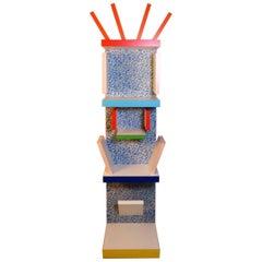 Ettore Sottsass  Bookcase Model Factotum Alchimia, Italy