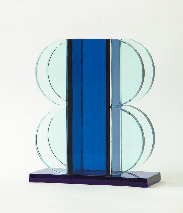 Ettore Sottsass for Fontana Arte Vase Model 2664 In Excellent Condition For Sale In New York, NY