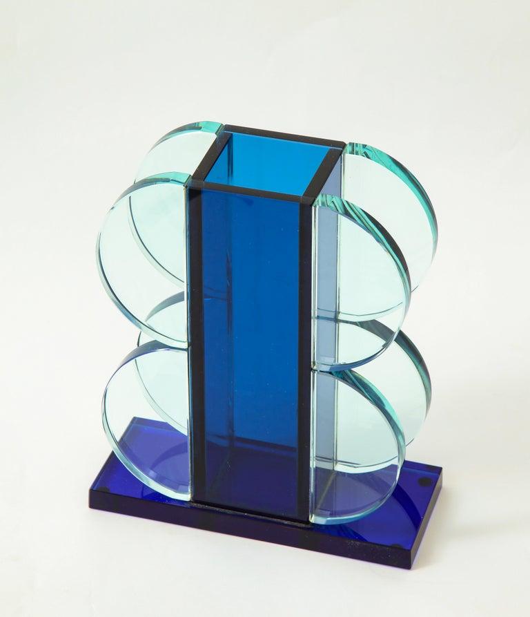 Late 20th Century Ettore Sottsass for Fontana Arte Vase Model 2664 For Sale