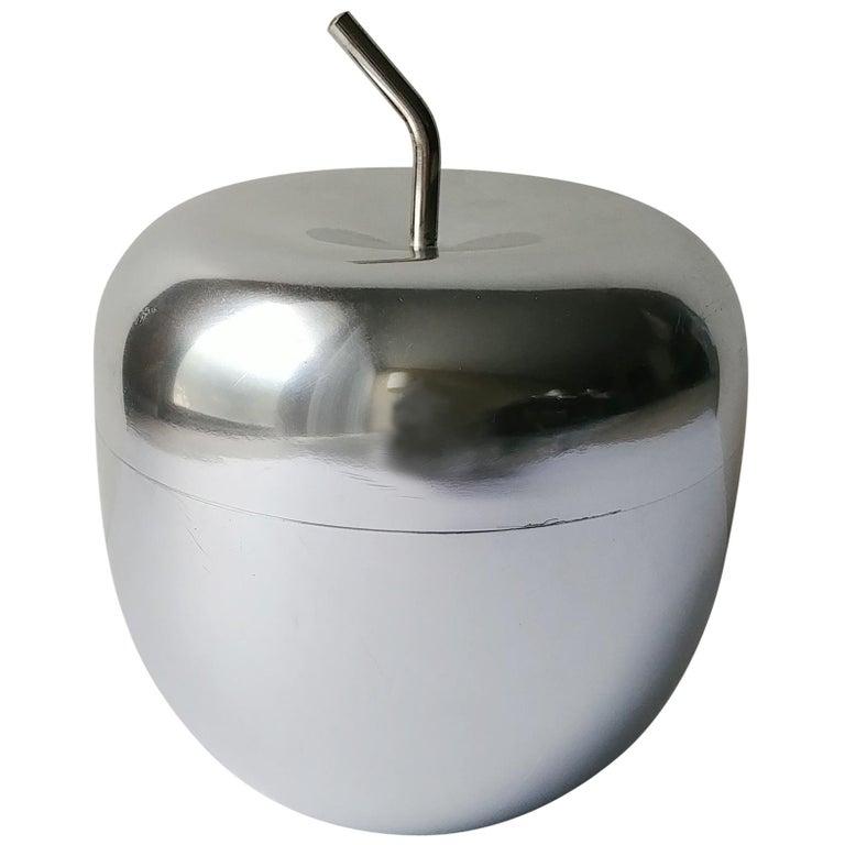 """Ettore Sottsass, Ice Bucket, """"Mela"""" """"Apple"""" for Rinnovel For Sale"""