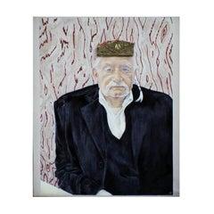 Ettore Sottsass Illuminated Painting by Nuala Goodman