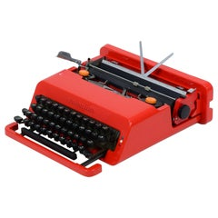 Ettore Sottsass & Perry A. King, Valentine Portable Typewriter for Olivetti 1968