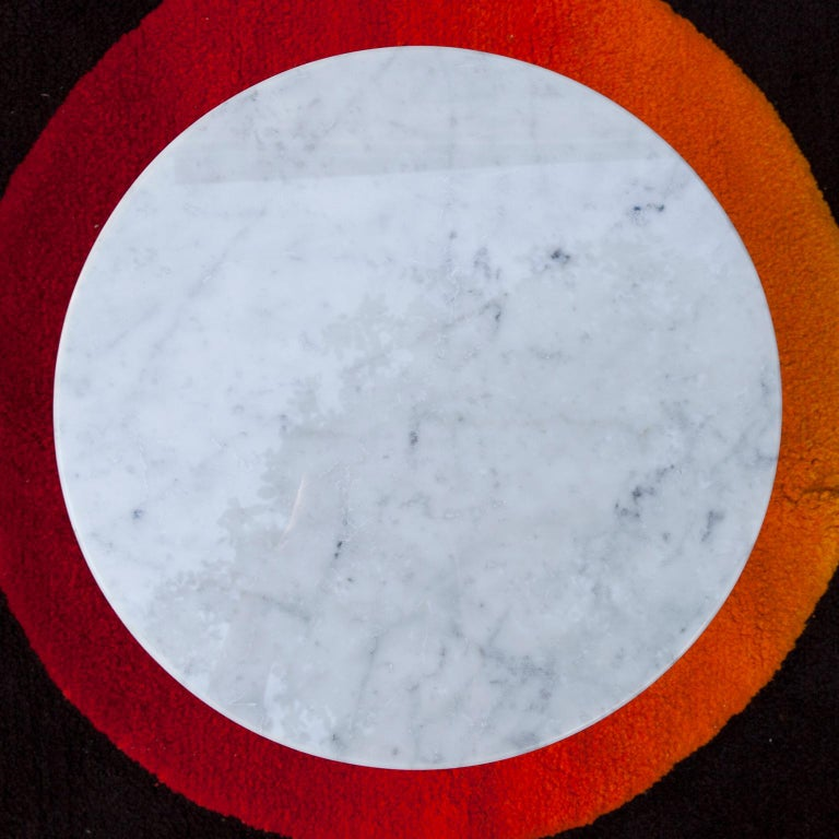 Mid-Century Modern Ettore Sottsass Primavera Marble Coffee Table, 1980 For Sale