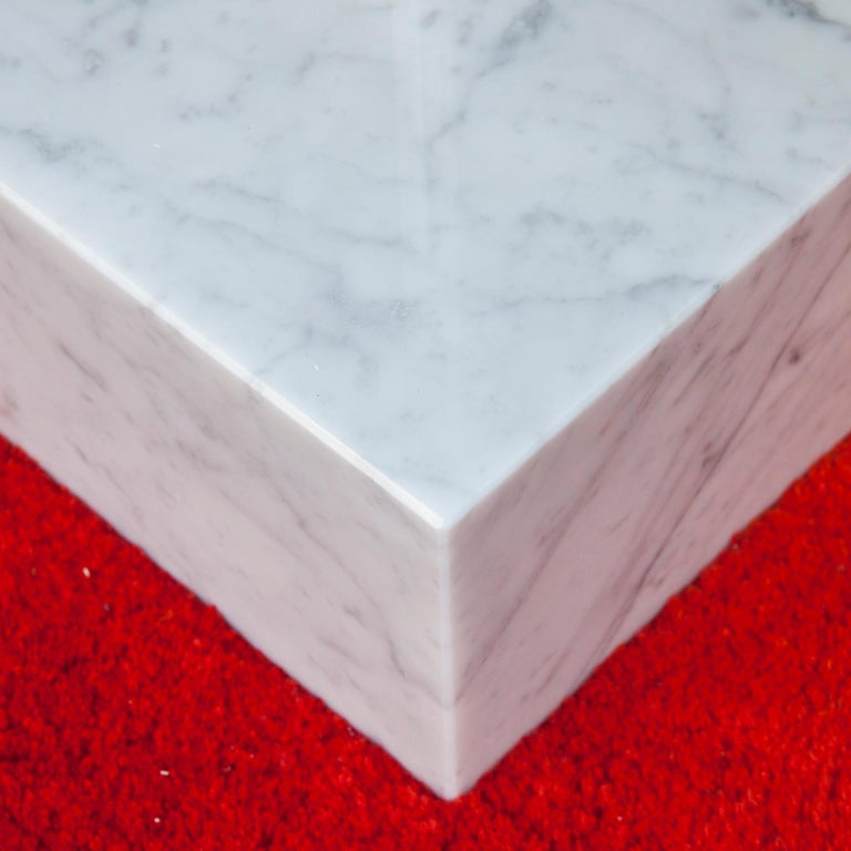 Ettore Sottsass Primavera Marble Coffee Table, 1980 In Good Condition For Sale In Munich, DE