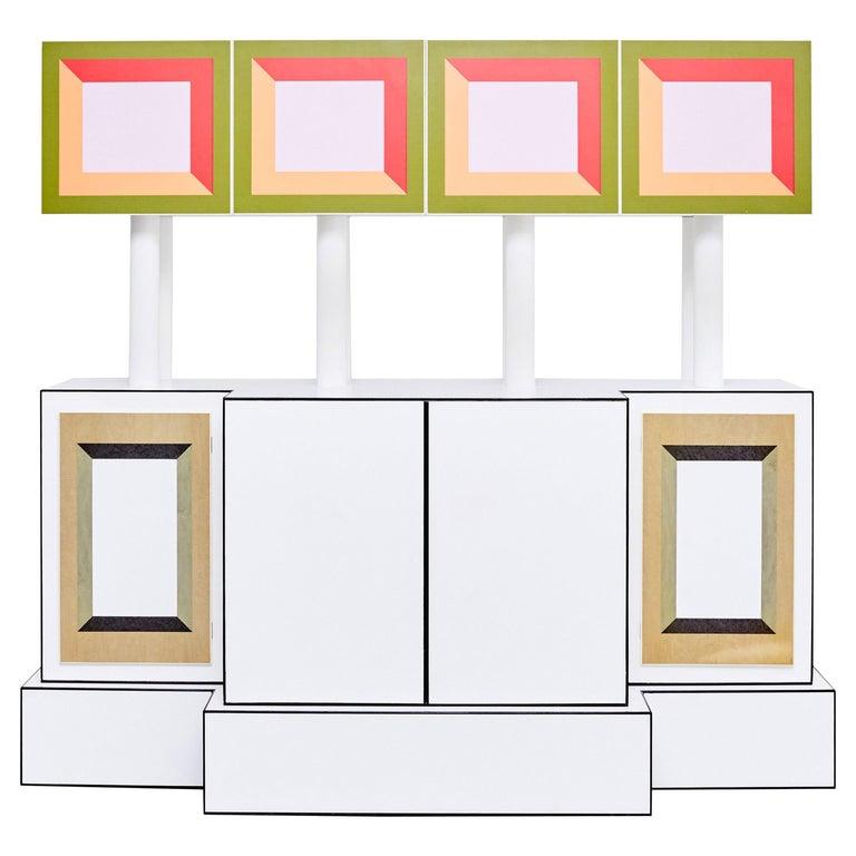 Ettore Sottsass for Design Gallery Milano limited-edition Piccoli Libri cabinet, 1992