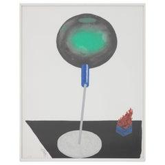 "Ettore Sottsass ""Sgo-nga"" Litograph from Capricci Series, 2001"