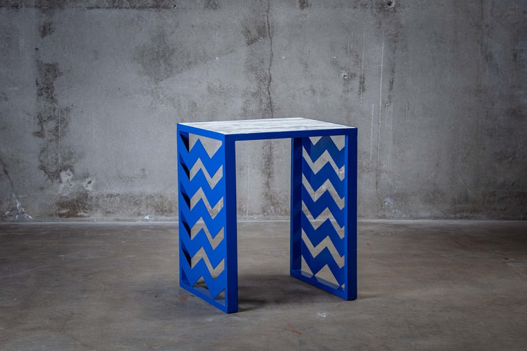 Mid-Century Modern Ettore Sottsass Side Table For Sale
