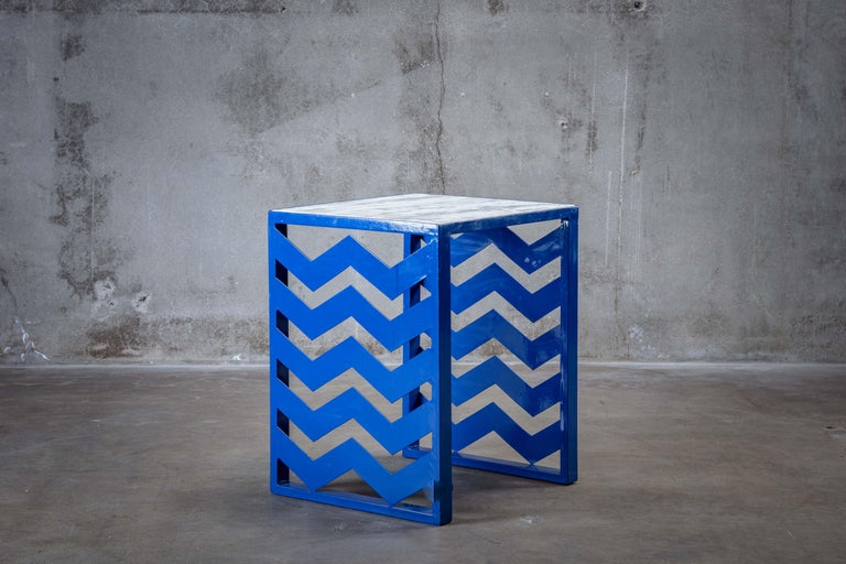 Italian Ettore Sottsass Side Table For Sale