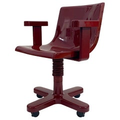 Ettore Sottsass Synthesis Desk Chair, Olivetti, Italy, 1973