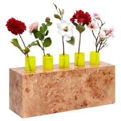Ettore Sottsass Twenty-Seven Woods for a Chinese Artificial Flower Vase Z