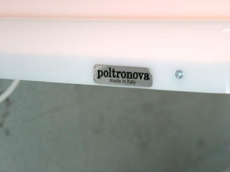 Modern Ettore Sottsass Ultrafragola Mirror Prod. Poltronova, Italy For Sale
