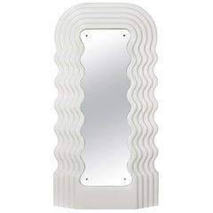 Ettore Sottsass Ultrafragola Mirror Prod. Poltronova, Italy