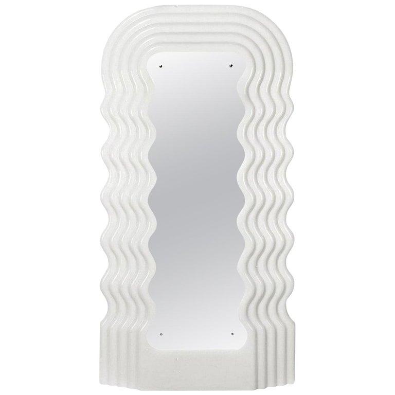Ettore Sottsass Ultrafragola Mirror Prod. Poltronova, Italy For Sale