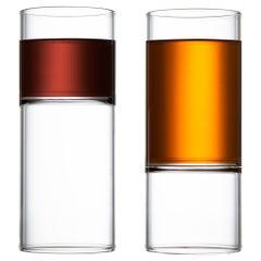 EU Clients, Minimal Designer Liqueur Espresso Mini Glasses Handmade Czech