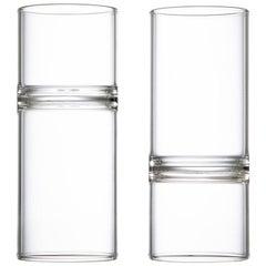 Eu Clients Minimal Liqueur Espresso Mini Glasses Handmade Czech in Stock Pair