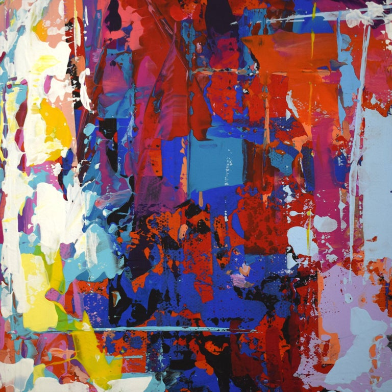 *G* ORIGINAL 947 PORTRAIT, Painting, Acrylic on Canvas For Sale 1