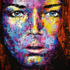 ORIGINAL 943 PORTRAIT, Painting, Acrylic on Canvas