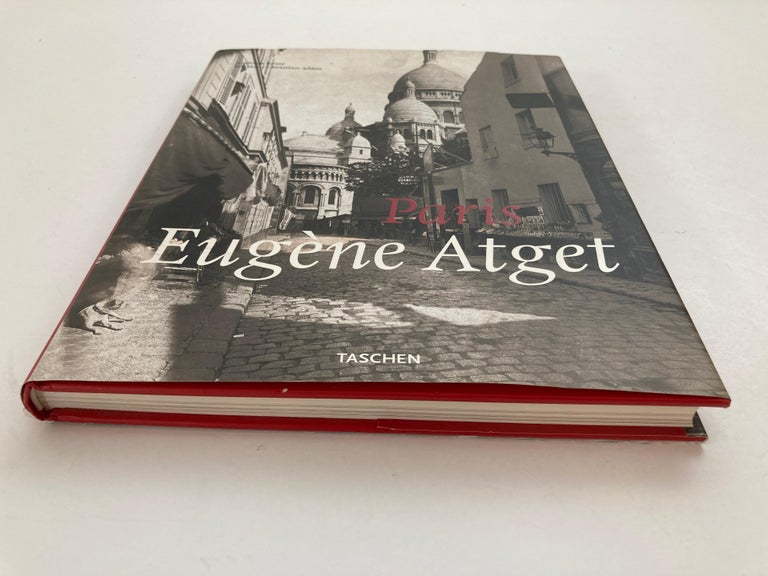French Provincial Eugène Atget Paris Hardcover Photo Book For Sale