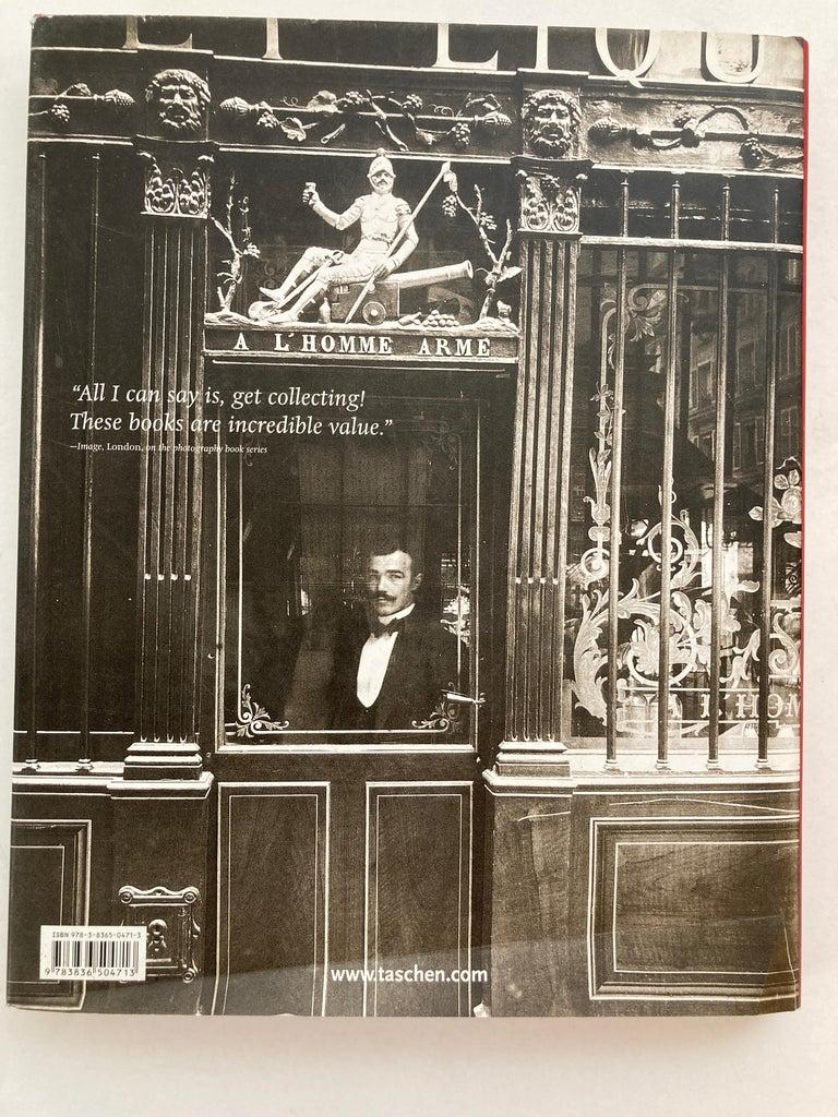 French Eugène Atget Paris Hardcover Photo Book For Sale