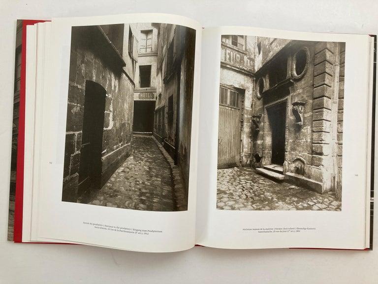 Eugène Atget Paris Hardcover Photo Book For Sale 1