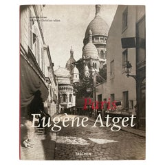Eugène Atget Paris Hardcover Photo Book