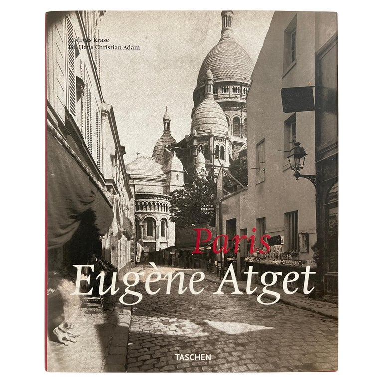 Eugène Atget Paris Hardcover Photo Book For Sale