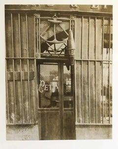 38 quai de Bethune by Eugene Atget, vintage photograph, albumen print