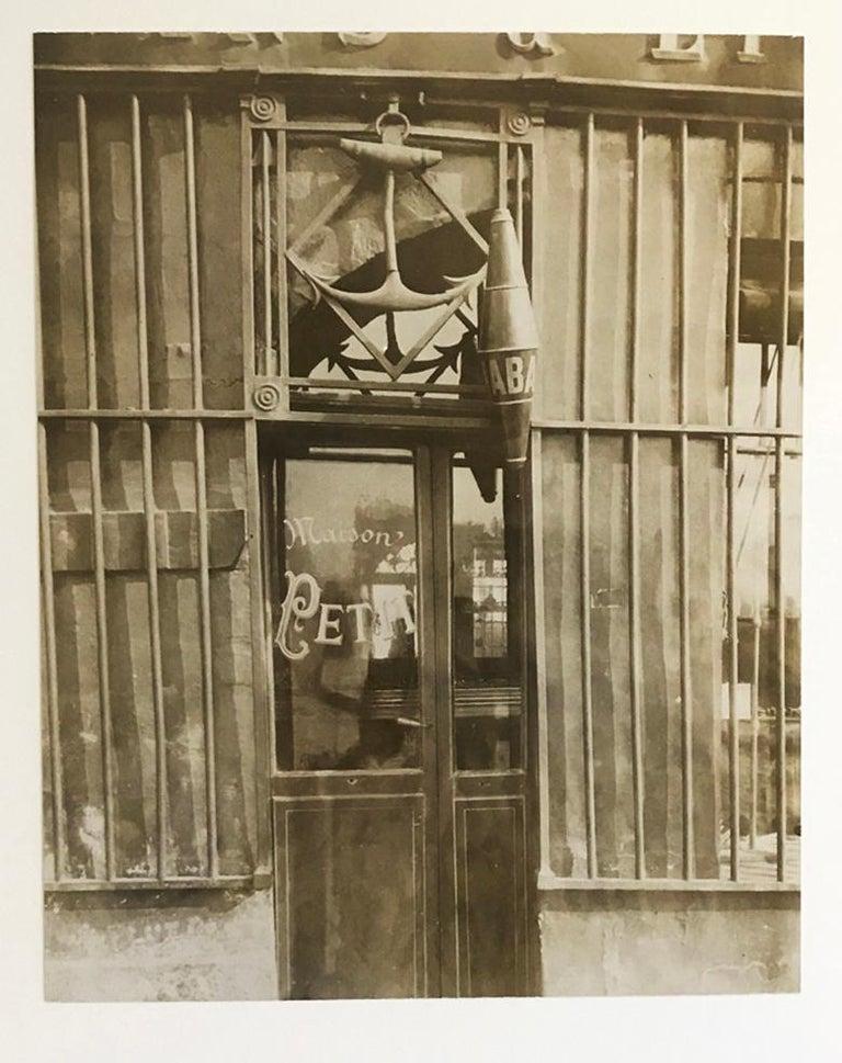 Eugene Atget Landscape Photograph - 38 quai de Bethune, Old Paris, France, Albumen Print, Early Photography, Vintage
