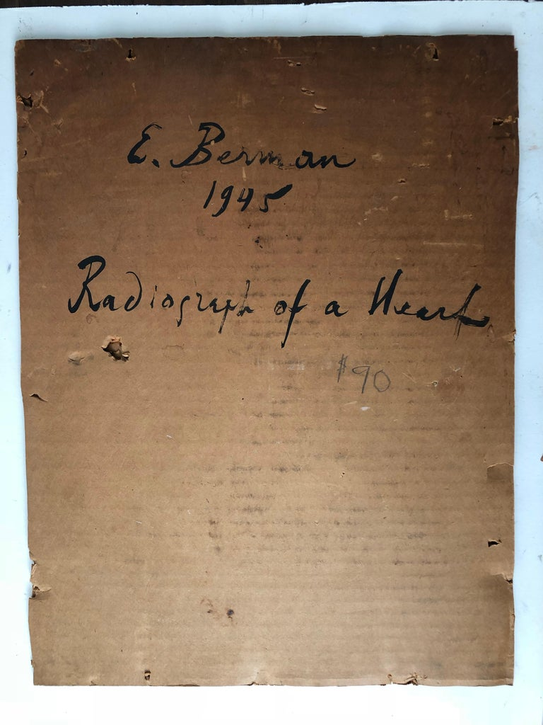 French Eugene Berman Collage in Original Frame For Sale