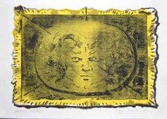 Medusa - Original Lithography by Eugène Berman - 1969