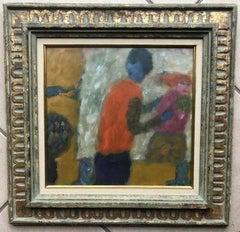 Eugene Brands 1956 Oil Painting