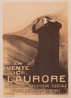 L'Aurore by Eugène Carrière, Symbolist lithograph, 1898