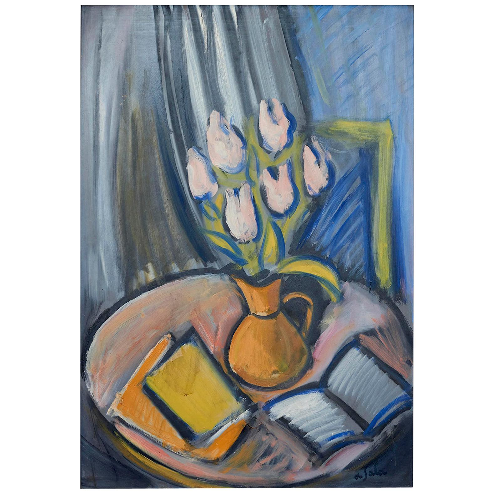 Eugene de Sala, Composition, Modernist Painting
